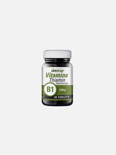 Thiamin B1 100mg - 90 comprimidos - Lifeplan