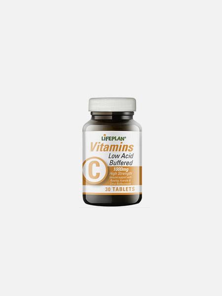 Vitamin C Low Acid (Buffered) 1000mg - 30 comprimidos - LifePlan