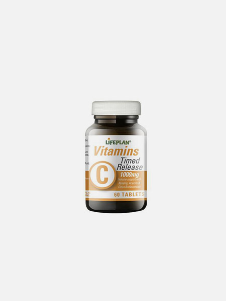 Vitamin C Time Release - 60 comprimidos - LifePlan
