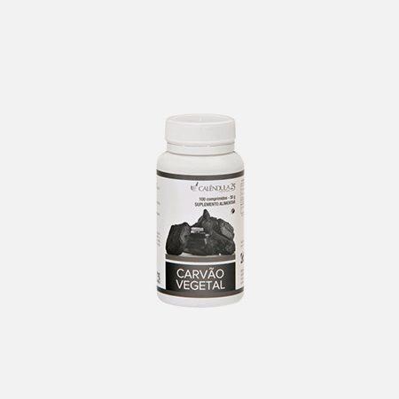 Carvão Vegetal – 100 comprimidos – Calêndula