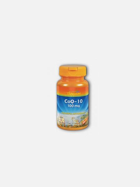 CoQ-10 100mg - 30 cápsulas - Thompson