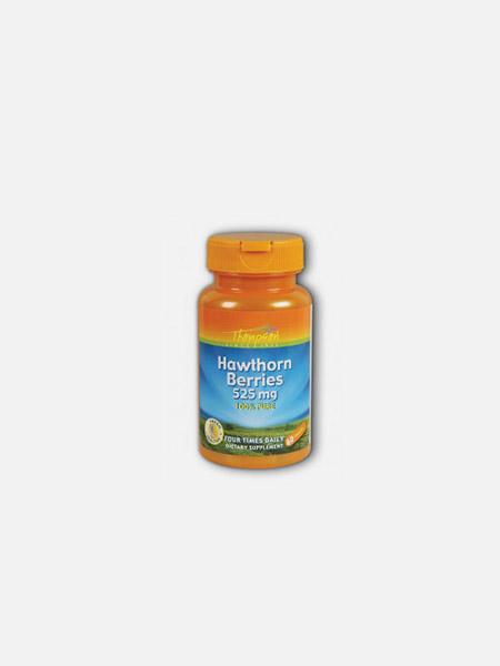 Hawthorn Berries 525mg - 60 cápsulas - Thompson