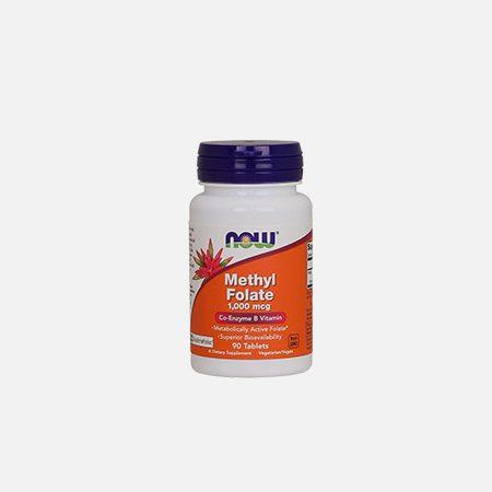 Methyl Folate 1000 mcg – 90 coprimidos – Now