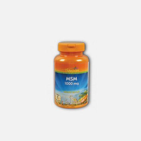 MSM 1000mg – 120 comprimidos – Thompson