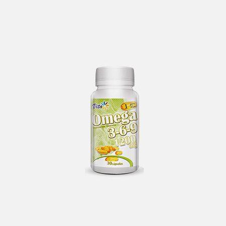Omega 3-6-9 1200mg – 30 cápsulas – Vita