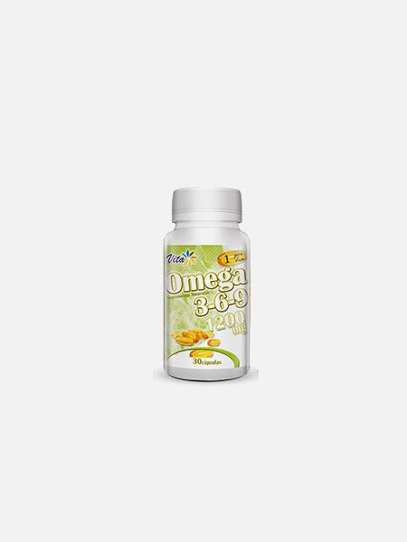 Omega 3-6-9 1200mg - 30 cápsulas - Vita