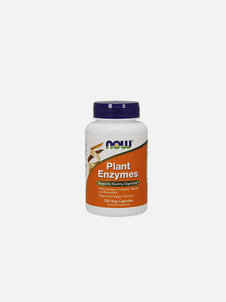 Plant Enzymes - 120 comprimidos - Now