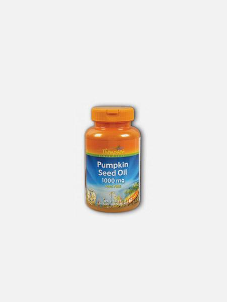 Pumpkin Seed Oil 1000mg - 60 cápsulas - Thompson
