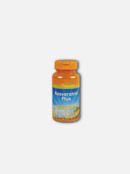 Resveratrol Plus - 30 cápsulas - Thompson