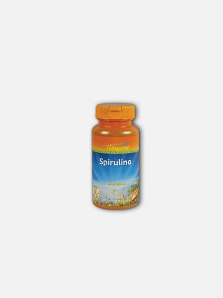 Spirulina - 100 comprimidos - Thomson