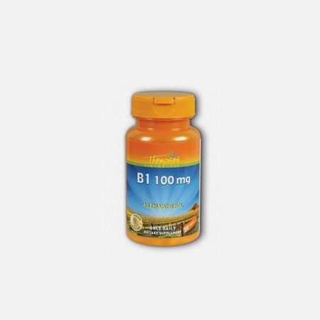 Vitamina B1 Tiamina 100mg – 30 comprimidos – Thompson