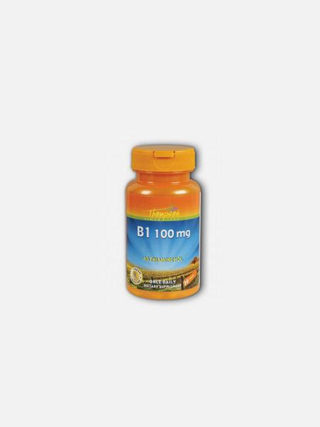 Vitamina B1 Tiamina 100mg - 30 comprimidos - Thomson
