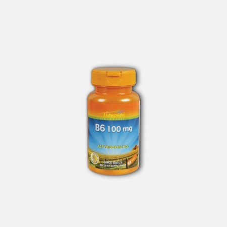 Vitamina B6 Pyridoxina 100mg – 60 comprimidos – Thompson