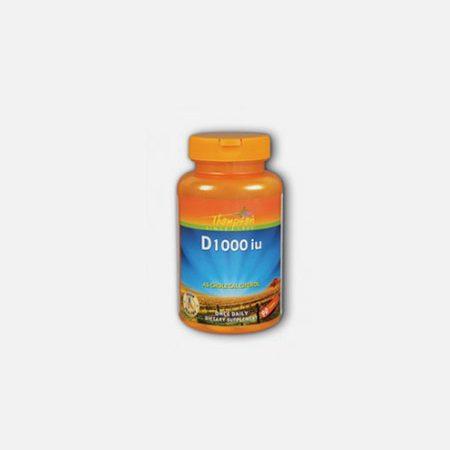 Vitamina D 1000iu – 90 comprimidos – Thompson
