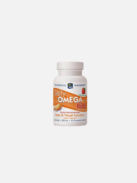 Daily Omega Kids - 30 cápsulas - Nordic Naturals