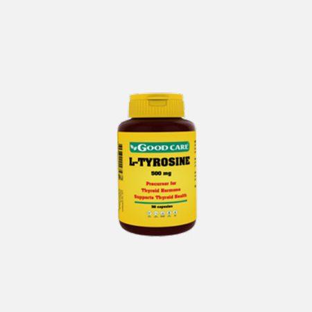 L-Tirosina – 50 cápsulas – Good Care