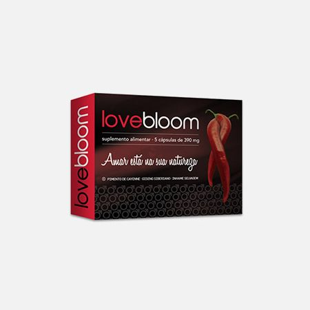 LoveBloom – 5 cápsulas – Bloom