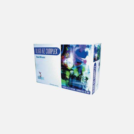 OLIGO AZ Complex + – 30 ampolas – Lusodiete