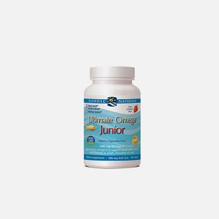 Ultimate Omega Junior – 90 cápsulas – Nordic Naturals