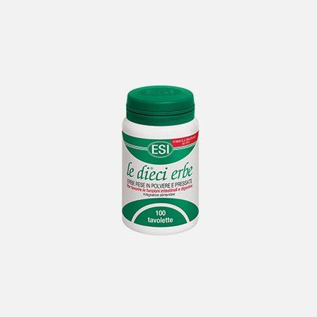 Le dieci erbe + Forte – 100 comprimidos – Esi