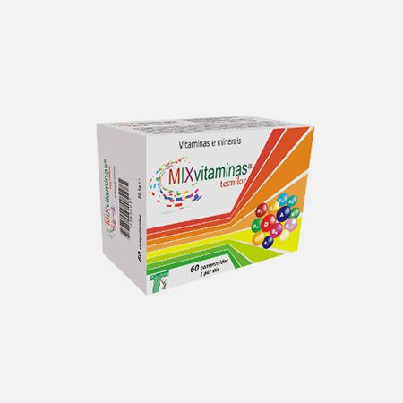 MIX Vitaminas – 60 comprimidos – Tecnilor