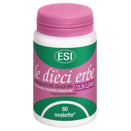 Le Dieci Erbe Colon Cleanse – 60 comprimidos – ESI