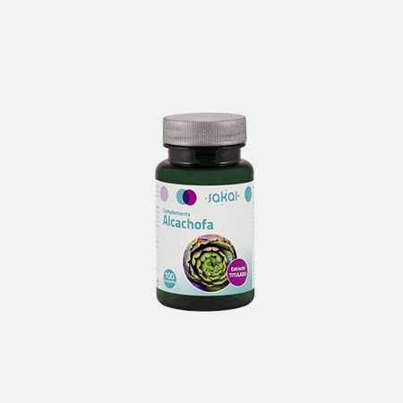 Alcachofra – 100 comprimidos – Sakai