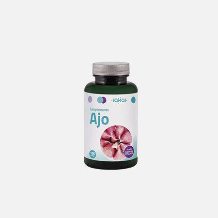 Alho – 180 cápsulas – Sakai