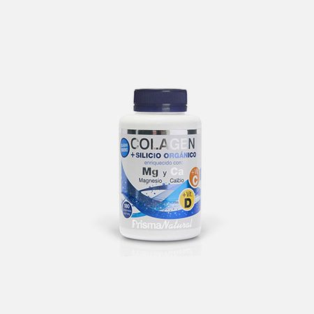 Colagénio + Silício Orgânico + Magnésio + Cálcio – 180 comprimidos – Prisma Natural