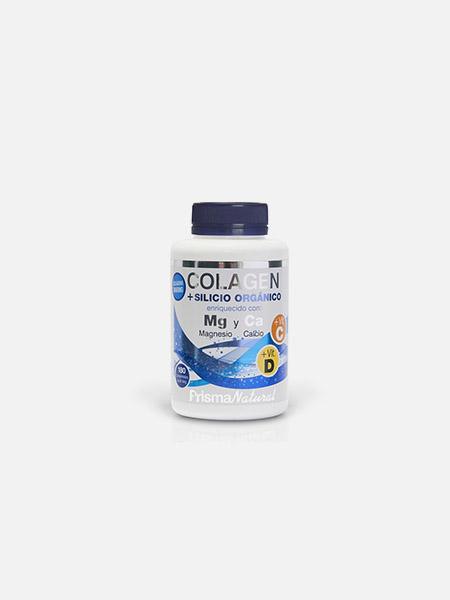 Colagénio + Silício Orgânico + Magnésio + Cálcio - 180 comprimidos - Prisma Natural