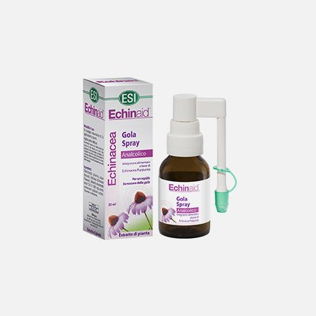 Echinaid Echinacea spray para a garganta – 20ml – ESI