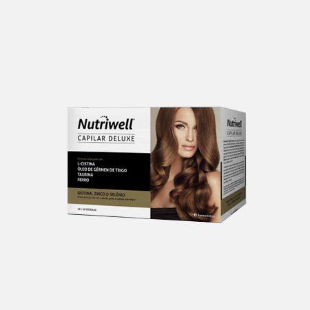 Nutriwell CAPILAR Deluxe – 30+30 cápsulas – Farmodiética