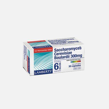 Saccharomyces cerevisiae boulardii – 30 cápsulas – Lamberts