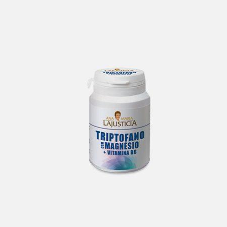 Triptofano com Magnésio + Vitamina B6 – 60 comprimidos – Ana Maria LaJusticia