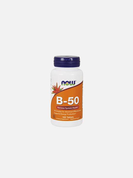 B-50 - 100 comprimidos - Now