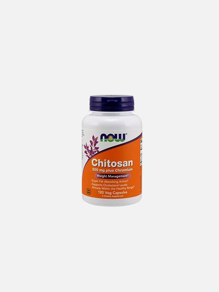 Chitosan 500 mg - 120 cápsulas - Now
