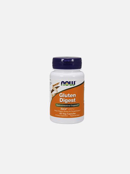Gluten Digest Enzymes - 60 cápsulas - Now