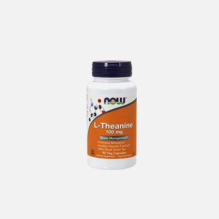 L-Theanine 100 mg – 90 cápsulas – Now