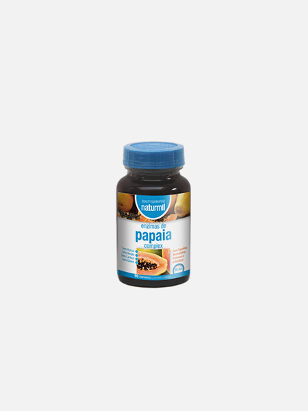 Naturmil Enzimas de Papaia Complex - 90 comprimidos - DietMed