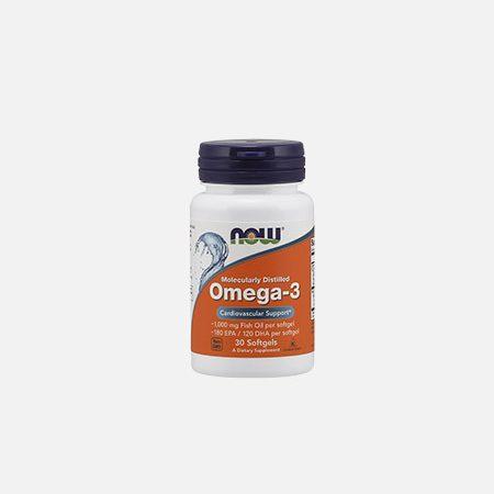 OMEGA 3 CHOLES FREE 100 (180 EPA / 120 DHA) 1000mg – 30 cápsulas – Now