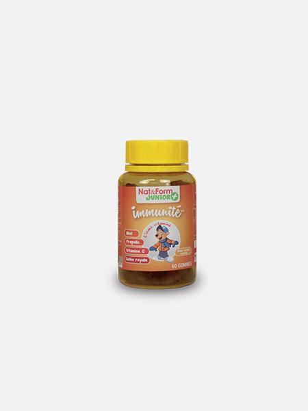 Super Ursinho Imunidade - 60 gomas - Nat&Form Junior