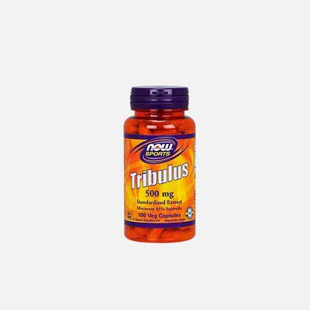 Tribulus 500mg – 100 cápsulas – Now