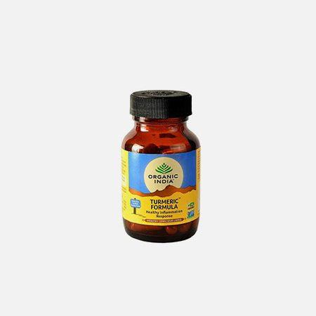 Turmeric Formula – 90 cápsulas – Organic India