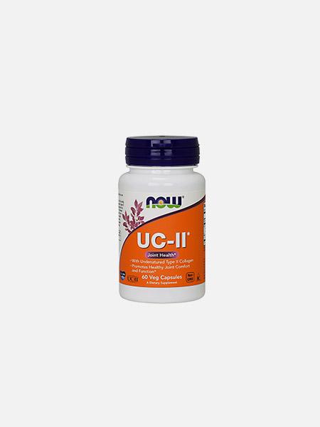 UC-II Type II Collagen - 60 cápsulas - Now