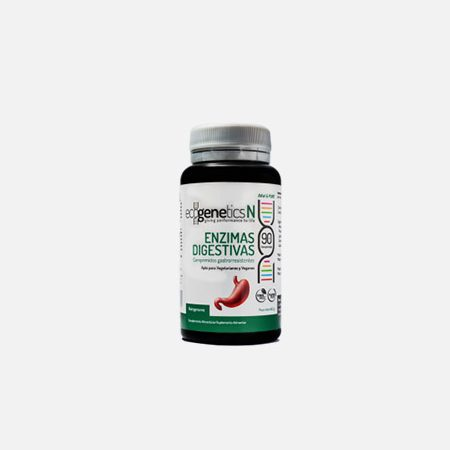 Enzimas Digestivas – 90 cápsulas – EcoGenetics