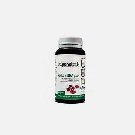 Krill + DHA Plus – 60 cápsulas – EcoGenetics