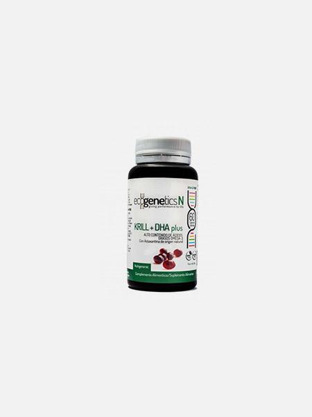 Krill + DHA Plus - 60 cápsulas - EcoGenetics