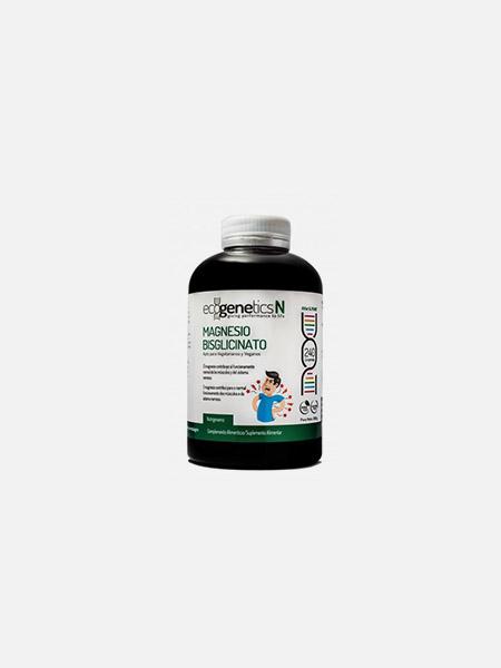 Magnésio Bisglicinato - 240 comprimidos - EcoGenetics