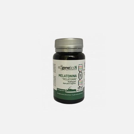 Melatonina – 90 cápsulas – EcoGenetics