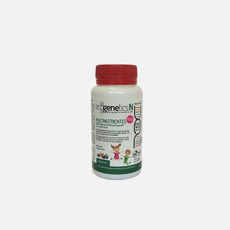 Multinutrientes KIDS – 120 comprimidos – EcoGenetics